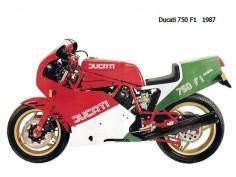Ducati 750 f1 1987