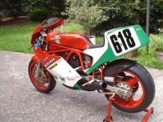 "Ducati 750 F1 Daytona "" Marco Lucchinelli "" / SH"