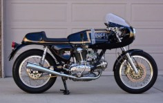 Ducati 750 GT Custom - Right Side