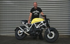 Ducati 750 Sport Cafe Racer by Andreas Goldemann #motorcycles #caferacer #motos |