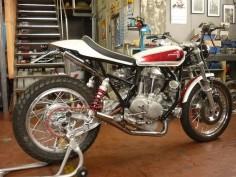 Ducati 750 Street Tracker - Roberto Totti #motorcycles #streettracker #motos |