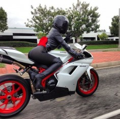 Ducati 848  probably would not hurt my feelings to not be in the lead on this