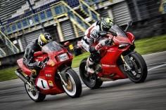 Ducati 888 SP4 vs Ducati 1199 Panigale R by Emma Balt on 500px