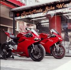 Ducati 899 Panigale vs Ducati 848