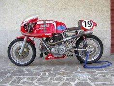 Ducati 900 Supersport Racebike. | Motorcycle Photo Of The Day