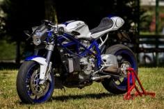 #Ducati 999 #caferacer #motorcycle by Andrea Sportelli #EatSleepRIDE