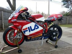 Ducati 999R FILA - Left Side