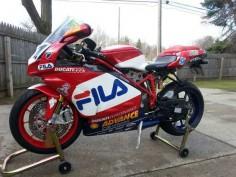 Ducati 999R FILA - Left Side