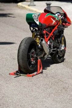 Ducati Cafe Racer 999 based