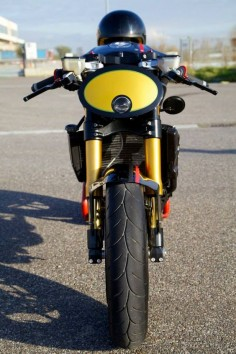 Ducati Cafe Racer - IRON Pirate Garage #motorcycles #caferacer #motos |
