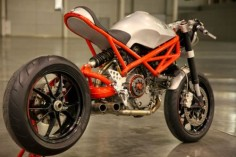 """Ducati Cafe Racer """"Rat Army"""" 1100 EVO by GRHV #motorcycles #caferacer #motos 
