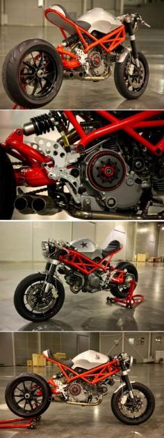 "Ducati Cafe Racer ""Rat Army"" 1100 EVO by GRHV"