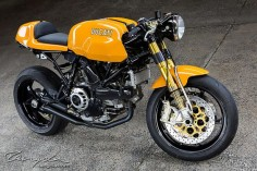 Ducati Cafe Racer Sport Classic photo by Tancgla #motorcycles #caferacer #motos |