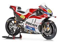 Ducati Desmosedici GP16, con múltiples spoilers