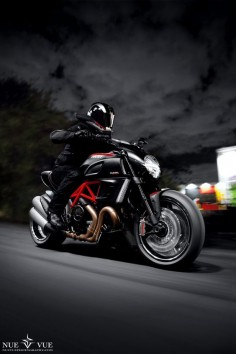 """Ducati Diavel Rig Shot"" by Nue Vue, via 500px. I like the name 's so lyrical;""ducati"""
