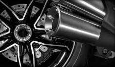 Ducati Diavel Titanium : Arte y lujo