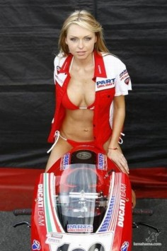 Ducati girls - Pictures nr 14