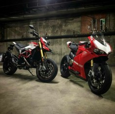 Ducati Hypermotard SP & Panigale 1299 R