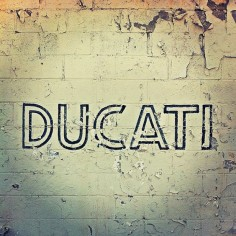 Ducati.  BL would like this!