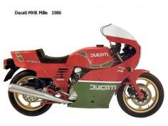 Ducati mhr mille 1986