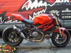 ducati monster 1100 evo | Monster 1100 Evo Maxi GP