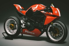 Ducati Monster 1200s 'Supertwin' by Kbike of Italy.