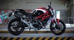 Ducati monster 696   My Facebook  My 500px  Press L to view it in large on black.  Press F to favorite it.  Captures et reproductions interdites. Tous droits réservés. Corentin Foucaut