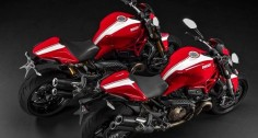 Ducati, Monster 821 & 1200 S Stripe