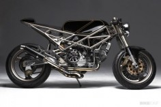 Ducati Monster by Hazan Motorworks