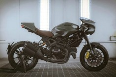 Ducati Monster Diesel custom by Hong Seungpyo.