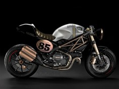Ducati Monster - Retro, Custom