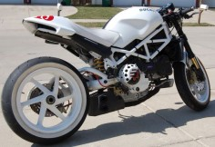 ducati monster s4rs custom | 2005 Ducati Monster S4R Completely Custom -