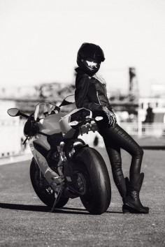 ducati motorcycle girl