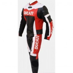 DUCATI MOTORCYCLE LEATHER SUIT, DUCATI TWO PIECE SUIT