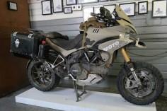 Ducati Multistrada offroad overland version