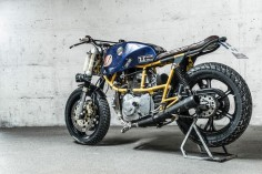 Ducati Pantah 500 race bike built by Hermann Köpf of Craftrad magazine. - Bike EXIF