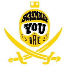 "Ducati Scrambler 2015 branding ""scrambler you are! #illustration #design #motorcycles #motos 
