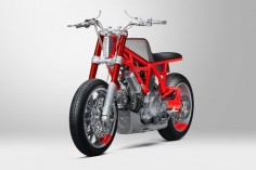 Ducati Scrambler by Untitled Motorcycles and Marin Speed Shop, built for the #customrumble