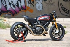Ducati Scrambler customised