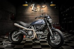 Ducati Scrambler Plug and Play by Libero Moto #motorcycles #scrambler #motos |