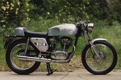 Ducati silver shotgun