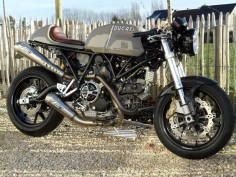Ducati Sport 1000 custom revival