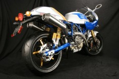 """DUCATI SPORT CLASSIC 1100 """"NEW BLUE"""" by NCR"""