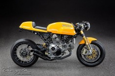 Ducati Sport Classic Cafe Racer - Photo by  Ducati Sport Classic Cafe Racer - Photo by  #motorcycles #caferacer #motos |