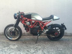 Ducati SS1100 Cafe Racer by Marco dal Castello #motorcycles #caferacer #motos |