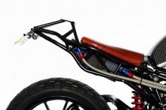 Ducati ST2 Street Tracker by DVMC Motorcycles - Photos via Kyle Ford #motorcycles #streettracker #motos |
