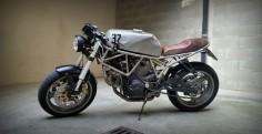 Ducati Supersport 750 Cafe Racer - 32LSD #motorcycles #caferacer #motos |