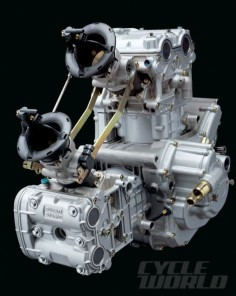 Ducati Testastretta motorcycle engine