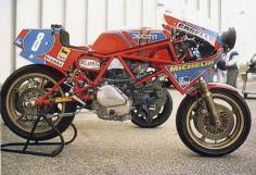 Ducati TT endurance 1984 Werks racing team
