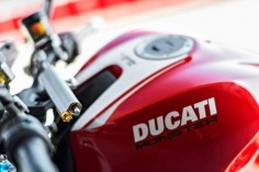 Ducati's Chief Designer Gianandrea Fabbro reveals the thinking behind the most powerful Monster yet. #monster1200r #iridemonster #ducatimonster